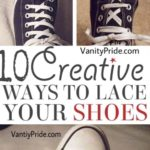 fun ways to lace shoes, creative ways to lace shoes