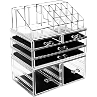 hblife makeup organizer, makeup case, makeup box